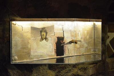 Schauvitrine in der Alten Burg