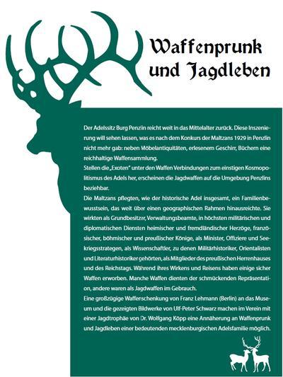 Waffenprunk und Jagdleben